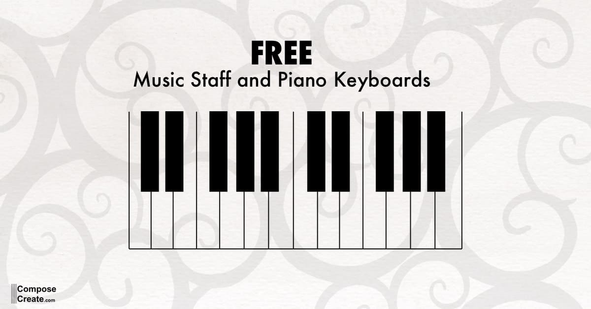 piano keyboard pdf