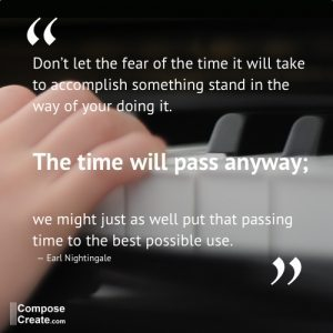 The time will pass anyway