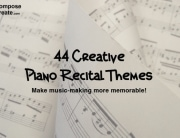 45 Creative Recital Themes