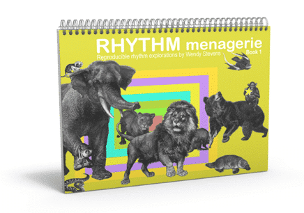 Rhythm Menagerie - rhythm worksheets for music class and piano lessons