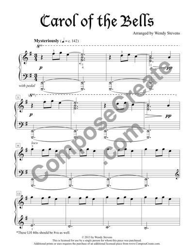 music composition paper