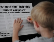 helping a student compose