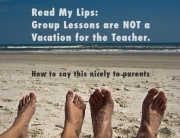 Group Lessons not a Vacation for the piano teacher