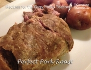 perfect pork roast easy recipe
