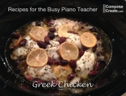 recipe for busy piano teacher greek chicken