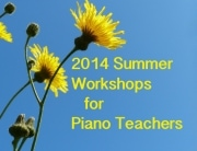 2014 summer workshops