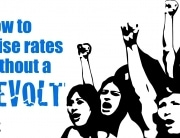 Raise rates tuition without revolt