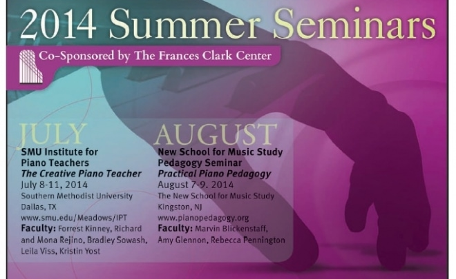 The Creative Piano Teacher Summer Workshop