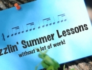 summer music piano lessons - less work