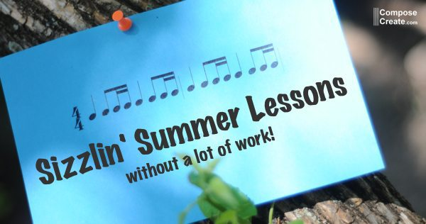 5 Ways to Give Sizzlin' Summer Lessons – without a lot of work