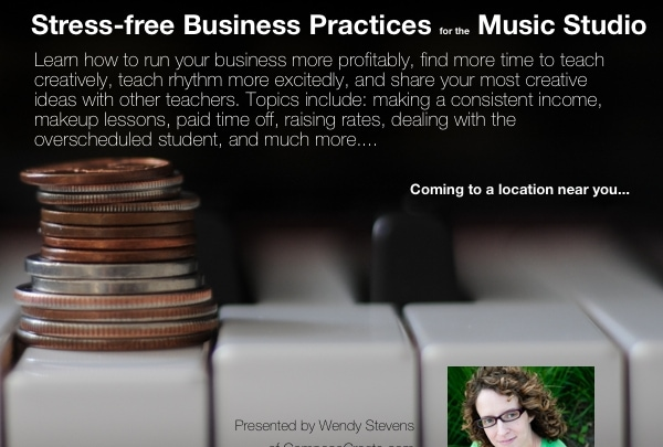 "The ""Stress-free Business Practices Workshop"" May Be Headed Your Way!"