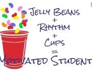 Rhythm cup jelly beans