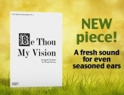 Be Thou my vision new piano piece