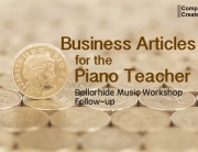 Business articles for the piano teacher