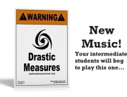 Drastic Measures New Piano Music
