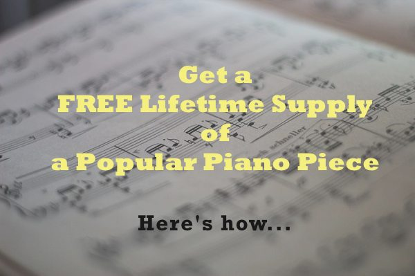 I'll Give You a Lifetime Supply of a Popular Piece FREE! Here's how…
