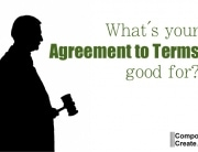 What's your agreement to terms good for?