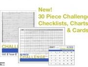 30 piece challenge charts