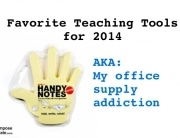 favorite teaching tools office supply addiction