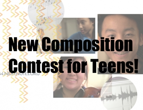 New Composition Contest for Teens!