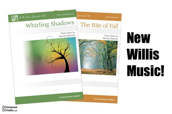 New Fall Piano Pieces – and 2 Giveaways!