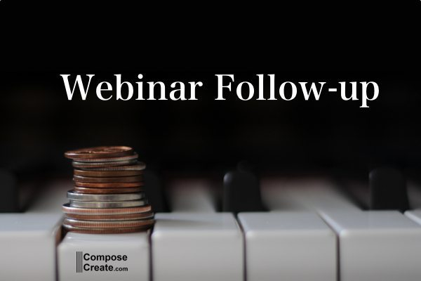 Business Articles for the Piano Teacher – Webinar Follow-up