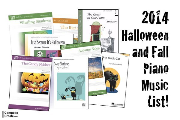 New 2014 Halloween and Fall Repertoire List