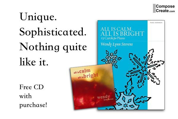 Free CD with Purchase of All is Calm, All is Bright Book