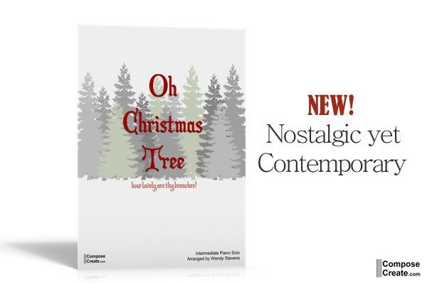 "NEW! ""Oh Christmas Tree"" Piano Solo SALE!!!"