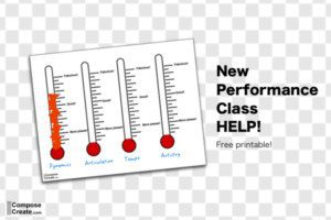 Performance class thermometer
