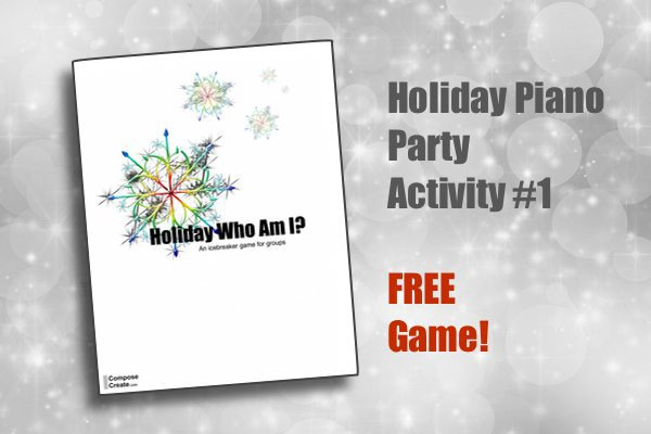 Holiday Group Lesson Plan – Item #1 FREE Game!