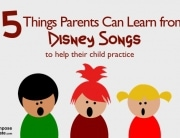 5 Things Parents can learn from disney songs to help their child practice piano