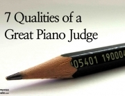 7 Qualities of a Great Piano Judge