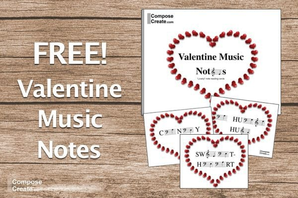 Free Valentine Music Notes Blog