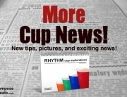 More rhythm Cup explorations news