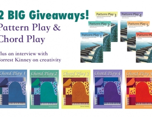 Creativity, Improvisation, Interview and Giveaway with Forrest Kinney