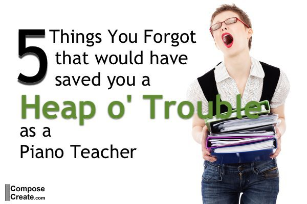 5 things heap o trouble