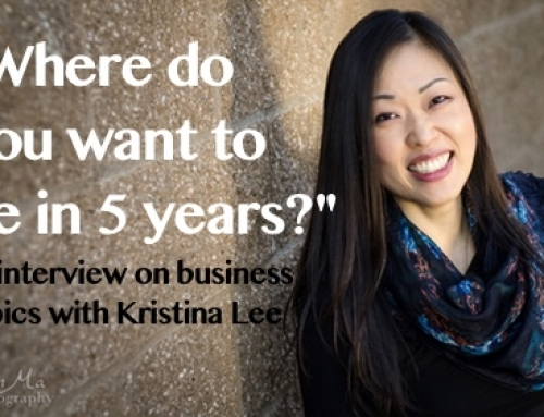 Where Do You Want to be in 5 Years? Make it happen! An interview with Kristina Lee
