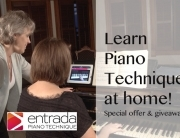 Learn piano technique at home
