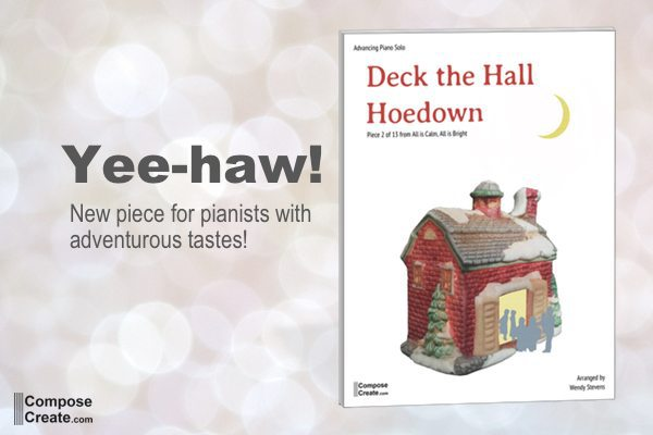 Deck the Hall Hoedown for piano